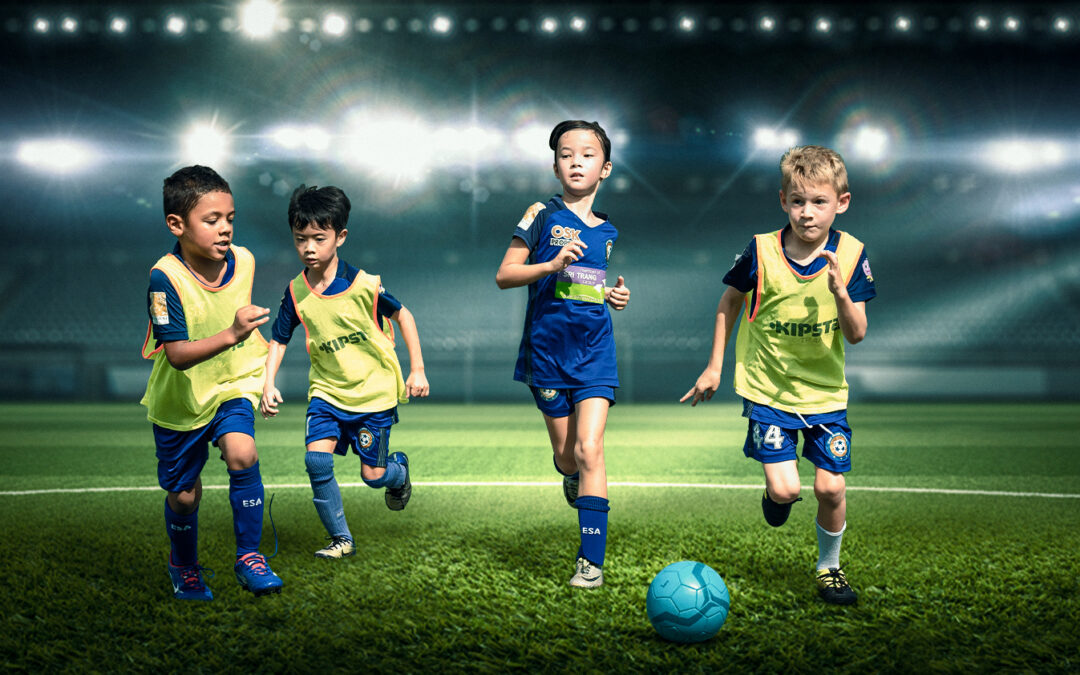 THE BEAUTY OF FOOTBALL
