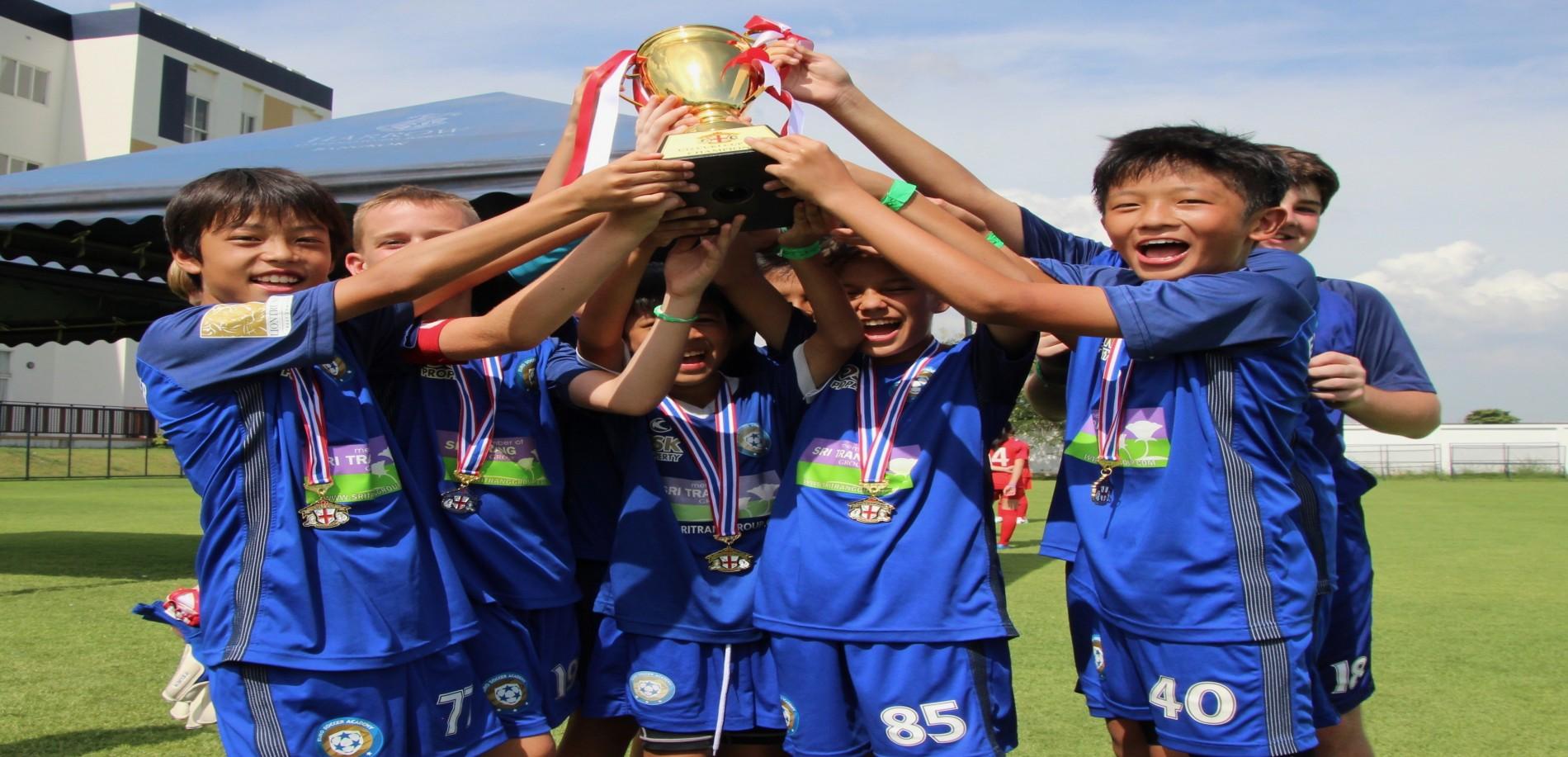 BOYS 13 TEAM IN GOTHIA CUP 2018